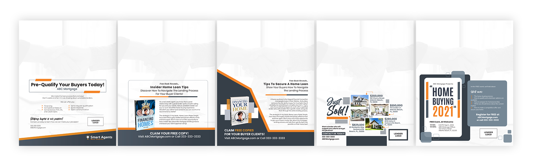lenders-back-cover-templates