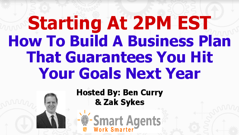 Webinar Replay: How to Build a Business Plan that Guarantees You Hit Your Goals